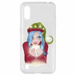 Чехол для Samsung A01/M01 Elf girl