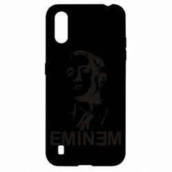 Чехол для Samsung A01/M01 Eminem Logo