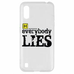 Чохол для Samsung A01/M01 Everybody LIES House