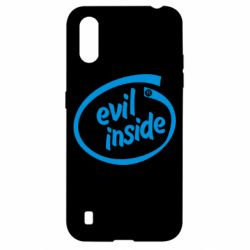 Чехол для Samsung A01/M01 Evil Inside