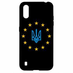 Чехол для Samsung A01/M01 ЕвроУкраїна