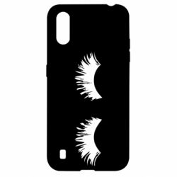 Чохол для Samsung A01/M01 Eyelashes