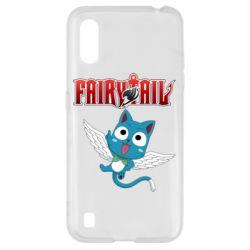 Чохол для Samsung A01/M01 Fairy tail Happy