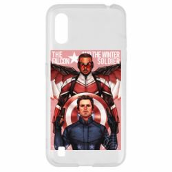 Чохол для Samsung A01/M01 Falcon and the Winter Soldier Art