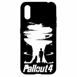 Чехол для Samsung A01/M01 Fallout 4 Art