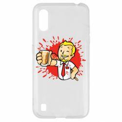 Чохол для Samsung A01/M01 Fallout  boy blood