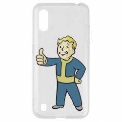 Чехол для Samsung A01/M01 Fallout Boy