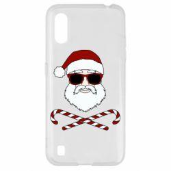 Чохол для Samsung A01/M01 Fashionable Santa