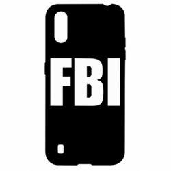 Чехол для Samsung A01/M01 FBI (ФБР)