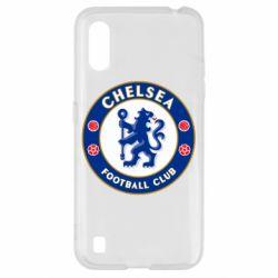 Чехол для Samsung A01/M01 FC Chelsea