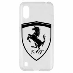 Чохол для Samsung A01/M01 Ferrari horse