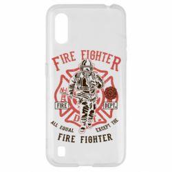 Чохол для Samsung A01/M01 Fire Fighter