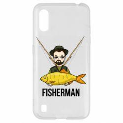 Чохол для Samsung A01/M01 Fisherman and fish
