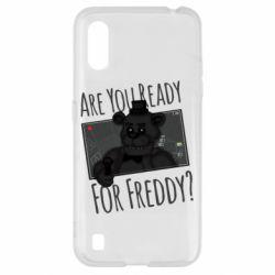 Чехол для Samsung A01/M01 Five Nights at Freddy's 1