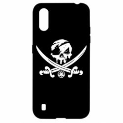 Чохол для Samsung A01/M01 Flag pirate