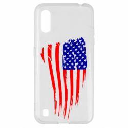 Чохол для Samsung A01/M01 Прапор США
