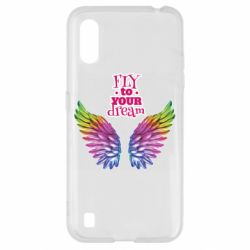 Чохол для Samsung A01/M01 Fly to your dream