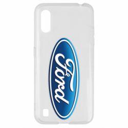 Чехол для Samsung A01/M01 Ford 3D Logo
