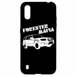 Чехол для Samsung A01/M01 Forester Mafia