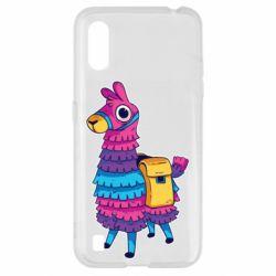 Чехол для Samsung A01/M01 Fortnite colored llama