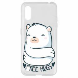 Чохол для Samsung A01/M01 Free hugs bear