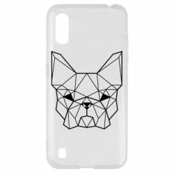 Чехол для Samsung A01/M01 French Bulldog Art