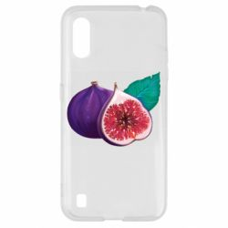 Чехол для Samsung A01/M01 Fruit Fig