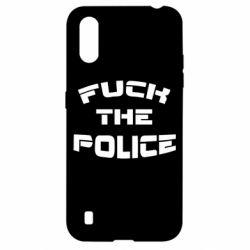 Чохол для Samsung A01/M01 Fuck The Police До біса поліцію