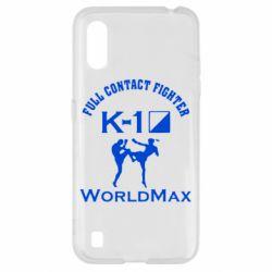 Чохол для Samsung A01/M01 Full contact fighter K-1 Worldmax