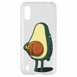 Чохол для Samsung A01/M01 Funny avocado
