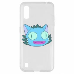 Чехол для Samsung A01/M01 Funny cat from Rick and Morty season 4
