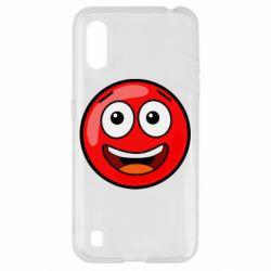 Чохол для Samsung A01/M01 Funny Red Ball