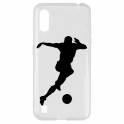 Чехол для Samsung A01/M01 Футбол