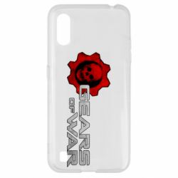 Чехол для Samsung A01/M01 Gears of War logotype