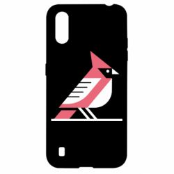 Чохол для Samsung A01/M01 Geometric Bird