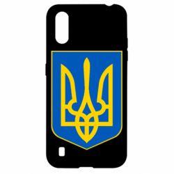 Чехол для Samsung A01/M01 Герб неньки-України