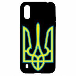 Чохол для Samsung A01/M01 Герб України (двокольоровий)