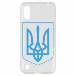 Чохол для Samsung A01/M01 Герб України з рамкою