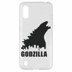 Чохол для Samsung A01/M01 Godzilla and city