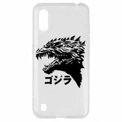 Чохол для Samsung A01/M01 Godzilla in japanese