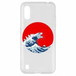 Чохол для Samsung A01/M01 Godzilla Wave