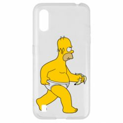 Чехол для Samsung A01/M01 Гомер Симпсон в трусиках