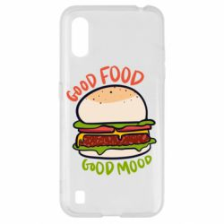 Чехол для Samsung A01/M01 Good Food