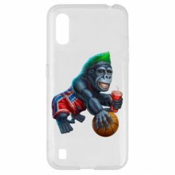 Чохол для Samsung A01/M01 Gorilla and basketball ball