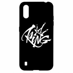 Чехол для Samsung A01/M01 Graffiti king