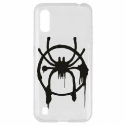 Чохол для Samsung A01/M01 Graffiti Spider Man Logo