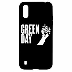 "Чохол для Samsung A01/M01 Green Day "" American Idiot"