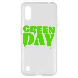 Чехол для Samsung A01/M01 Green Day