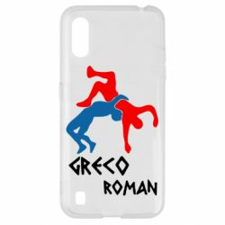 Чохол для Samsung A01/M01 Греко-римська боротьба