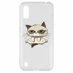 Чохол для Samsung A01/M01 Grumpy Cat Art nope